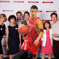 Linsanity filmmakers with Windrider team members.Photo credit: John Meyer