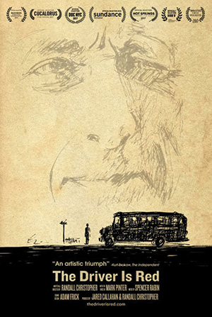 The Driver is Red Poster