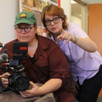 Behind the scenes with director Laura Nix