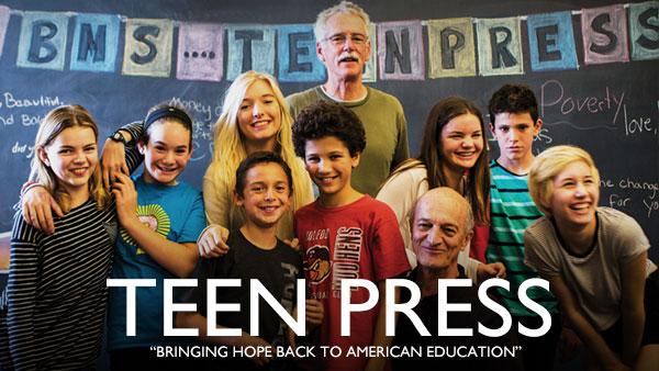 Teen Press Header