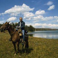 Jimmy Carter at Grand Teton National Park - Photo Courtesy of CARTERLAND