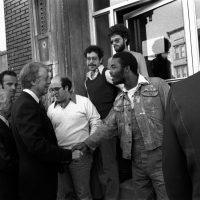 Jimmy Carter in Harlem - Photo Courtesy of CARTERLAND