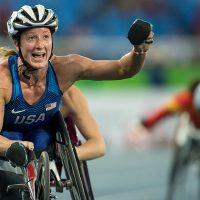 Tatyana McFadden - 2016 Rio Paralympics - © Bob Daemmrich Photography, Inc.
