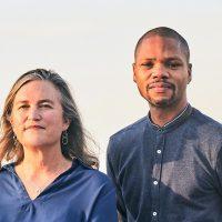 Directors Anne Flatté and Marlon Johnson - Photo Courtesy of RIVER CITY DRUMBEAT
