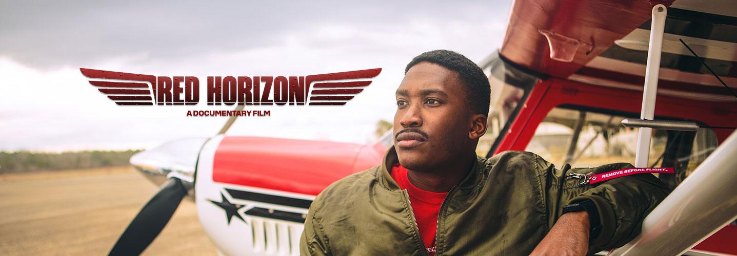 Red Horizon Header