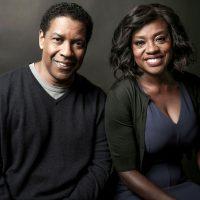Giving Voice. Denzel Washington, left, and Viola Davis. c. Invision/AP/Shutterstock