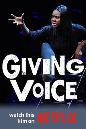 Giving Voice Film Poster - Netflix